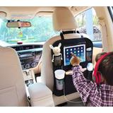 Organizador Auto Asiento Porta Tablet Ipad Celulares Botella