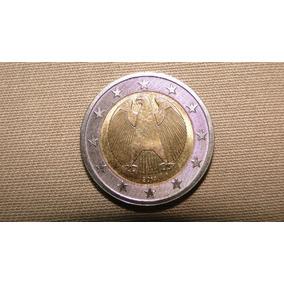Moeda Belíssima De Dois Euros Da Alemanha