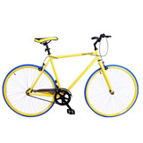 Bicicleta De Ruta Royal London Fixie De Importación Amarilla