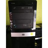 Cpu Hp Compaq, Amd Athlon 1640b, 4gb Ram ,250 Disco, Lcd 17