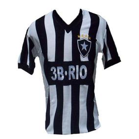 Camisa Botafogo Kappa Retro - Calçados 8ffec14e3481d