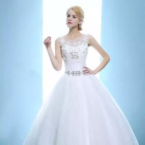 Vestido De Noiva Pronta Entrega Com Anagua Brinde
