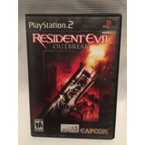 Resident Evil Outbrake Playstation 2