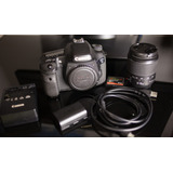 Canon 7d + Lente + Bateria Y Cargador + Memoria