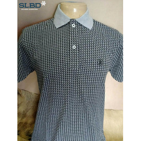 Camisa Polo Smith Brothers Lisa Ref 3534 Cinza Com Preto 3d496c050b7