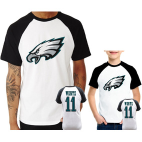 Camisa Philadelphia Eagles Wentz - Camisetas e Blusas no Mercado ... 8529db3b204