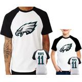 Camisa Philadelphia Eagles Wentz no Mercado Livre Brasil 367d5cb8cab75