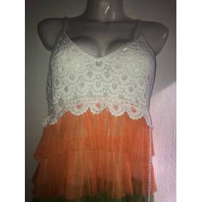 Vestido Crochet Colores