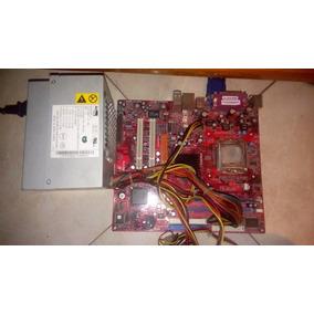 Computadora Con Procesador, Tarjeta, Memoria Y Fuente