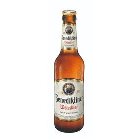 Cerveza Benediktiner Weissbier 24 Pack 330ml Alemana*