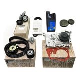 Kit Correa Distribucion Kangoo 1.6 16v K4m Bomba Kit Poly V