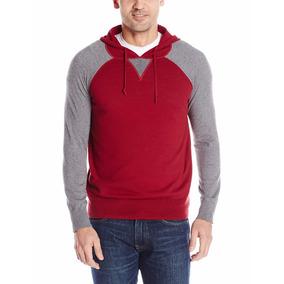 Alex Stevens Sudadera Delgada Sweater Roja Gris