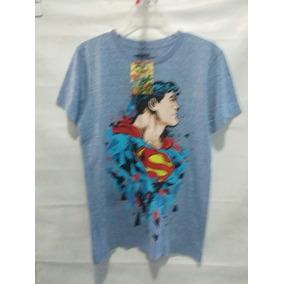 Playera Mascara De Latex Superman