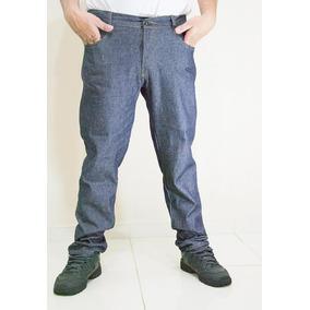 Kit C/ 3 Calça Jeans Masculino 58 Ao 62 Uniforme Basico.