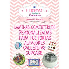 Lámina Comestible Papel Arroz Fototorta Cupcake Cookies