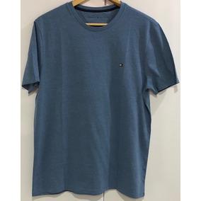 Camisa Malha Lisa Tommy Hilfiger - Original caf9caeba75