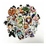 Kit De 50 Adesivos Tema Dragon Ball Z Goku Vegeta Carro