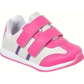 Tênis Feminino Infantil Menina Jogging Dedinho Do Pé Jg0105