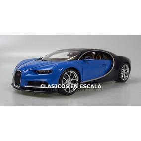 Bugatti Chiron - Hermoso Espectacular Megacar- A Burago 1/18