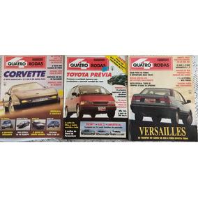 Lote Revistas Quatro Rodas - 10 Edições - Anos 90/91/92