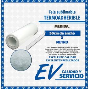 Vinil Textil (- Tela Termoadherible -) Sublimable (4mt)
