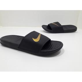 7147e43f65 Chinelo Nike Feminino Florido - Chinelos Dourado escuro no Mercado ...