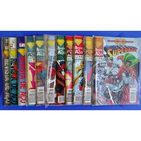 Gibis Superboy 1994/1995 Revista De Aço 11 Números
