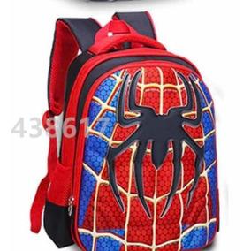 Mochila 3d Spiderman Hombre Araña Súper Héroes Marvel