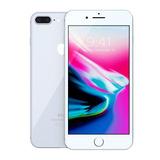 Iphone 8 Plus 64gb Silver Lacrado 1 Ano Garantia