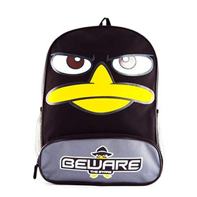 Phineas And Ferb Agent Perry Backpack Black