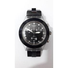 23d0e887672 Relogio Swatch Full Blooded Prata Modelo Pequeno - Relógios De Pulso ...