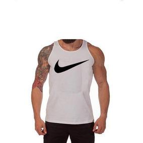 fe113aeff0 Kit C 03pç Camiseta Regata Masculina Nike Algodão Fretegrtiz