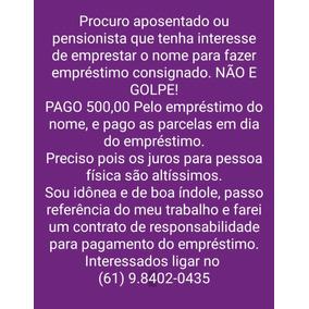 Emprestimo Do Nome (pago 1.000,00)