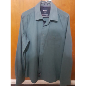 99ed4d3c04a41 Camisa Moose Original Talla M Slim Fit Ajustada Perfecta