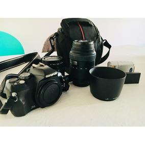 Cámara Réflex Digital Olympus E410 10 Mp