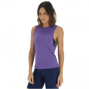 d4f51c1b44fc2 Camiseta Regata Oxer New Clas - Feminina - Cor Roxo cinza