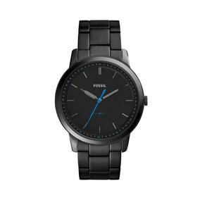 Reloj Análogo Marca Fossil Modelo: Fs5308 Color Negro Para C