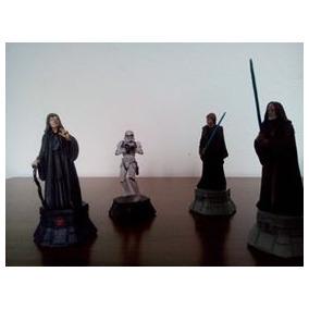 Coleção De Bonecos Star Wars 30 Peças