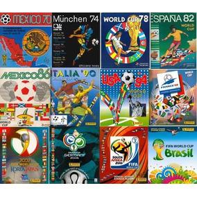 Álbuns De Figurinhas Copa Do Mundo 1950 A 2018 Digitalizados