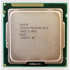Processador Intel G620 Pentium Dual 2,60ghz Lga 1555 - Usado