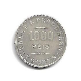 Moeda Brasil 1000 Réis 1912
