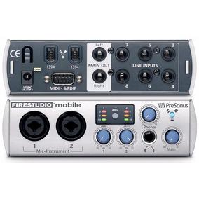 Presonus Fire Studio Mobile 10x6 Firewire + Studio One