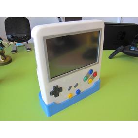 Case Raspberry Pi3 Pi 3 Game Boy Rasp Boy Em 3d Tela De 5