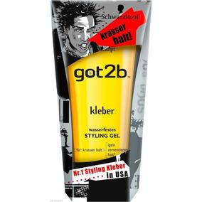 Schwarzkopf Got2b Kleber Glued Adesivo Gel De Modelagem