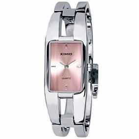 a341eea05ec Relogio Feminino Retangular Prata E - Relógios De Pulso no Mercado ...