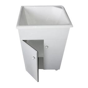 Mueble Lavadero + Pileta 50 X 48cm Fibra Fregadero Tio Envio