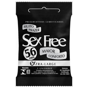 Preservativo Sex Free Extra Large 56mm 3 Un