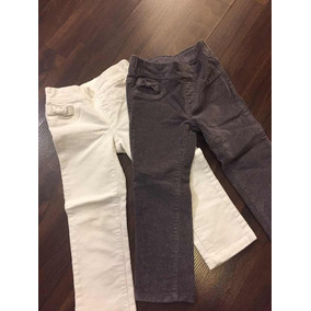 Pantalón Gymboree De Pana Niña Talla 2, 2 Pantalones