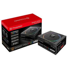 Fonte 650w Tt Smart Pro Fully Mod/rgb/80+bronze