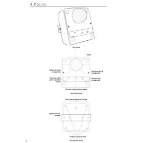 Aparelho Sinalizador Acustico E Visual Ke 218s
